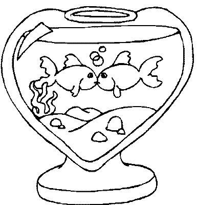 Acquari pesciolini disegni per bambini da colorare for Immagini di pesci da disegnare