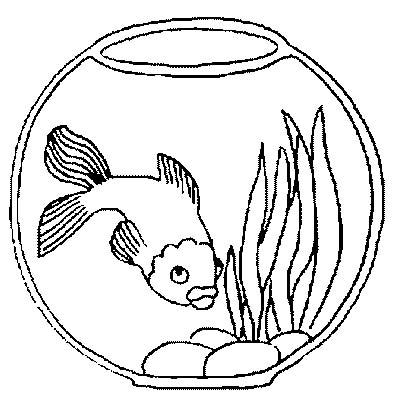 Acquari pesciolini 4 disegni per bambini da colorare for Immagini di pesci da disegnare