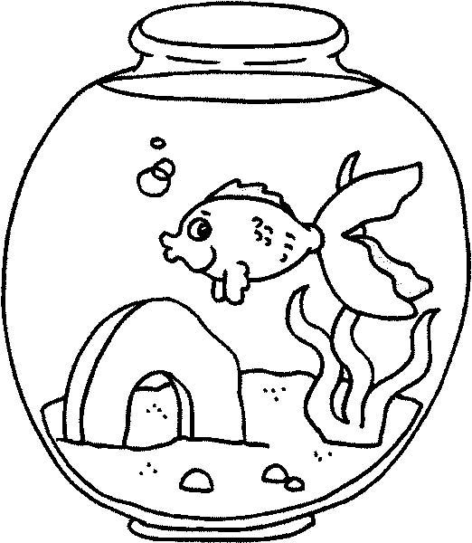 Acquari pesciolini disegni per bambini da colorare for Disegni pesciolini da colorare