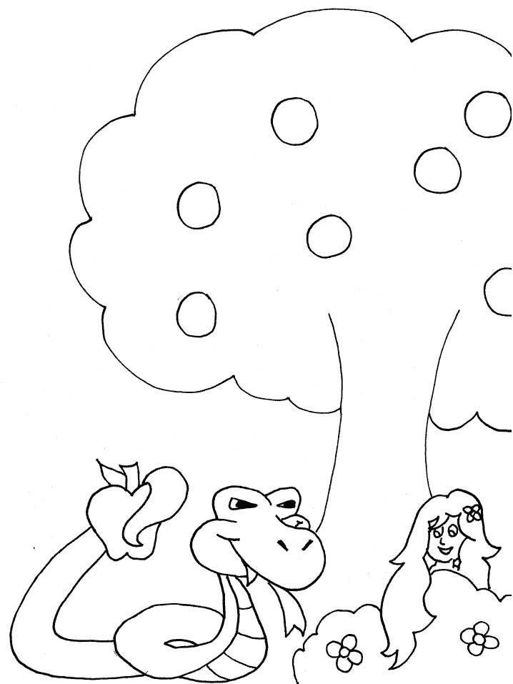 Adamo eva disegni per bambini da colorare - Immagini del treno per colorare ...