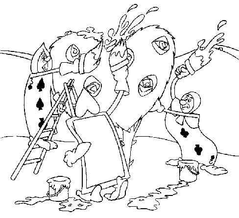 Alice 2 Disegni Per Bambini Da Colorare
