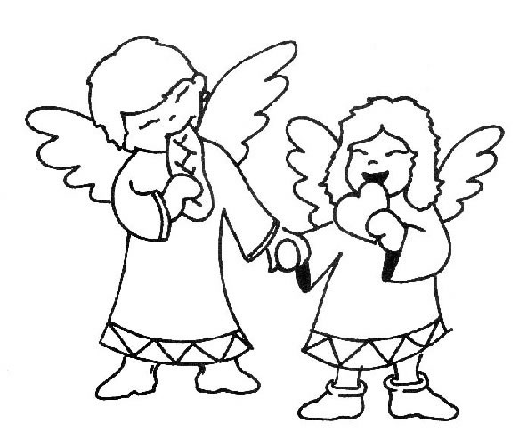 Angeli disegni per bambini da colorare for Disegni da colorare angeli