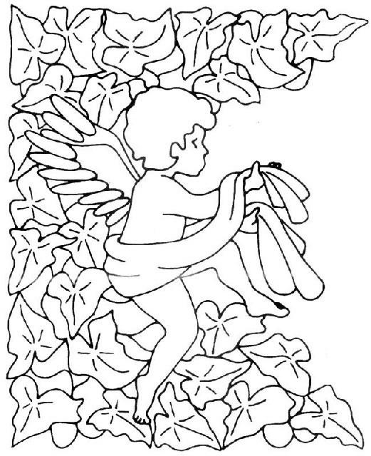 Angeli disegni per bambini da colorare for Disegni angeli da colorare gratis