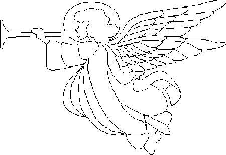 Angeli 2 disegni per bambini da colorare for Angeli da stampare e colorare