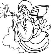 Angeli 3 disegni per bambini da colorare for Disegni da colorare angeli