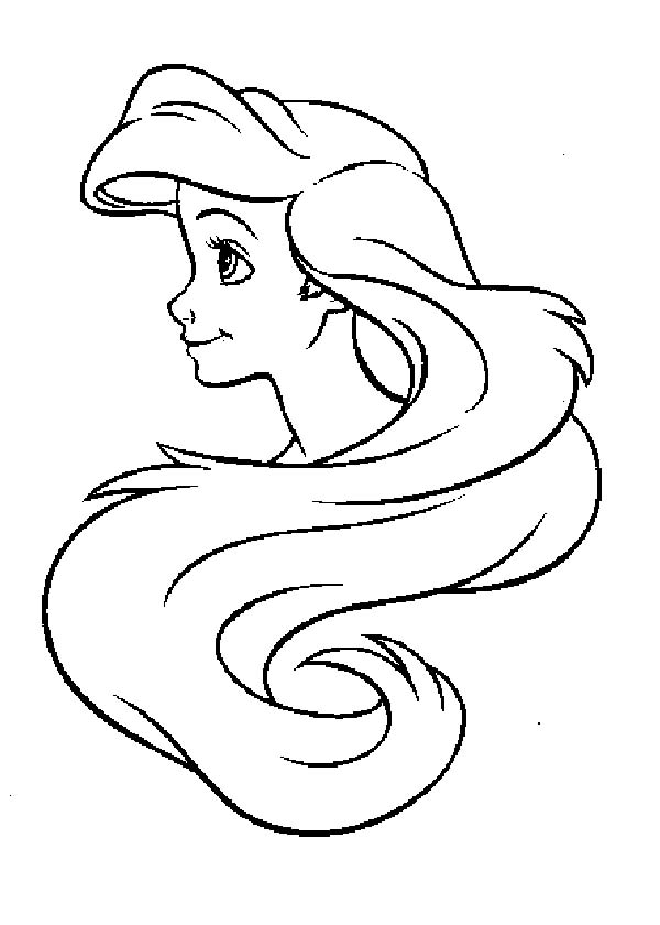unwashed hair for coloring pages - photo#20
