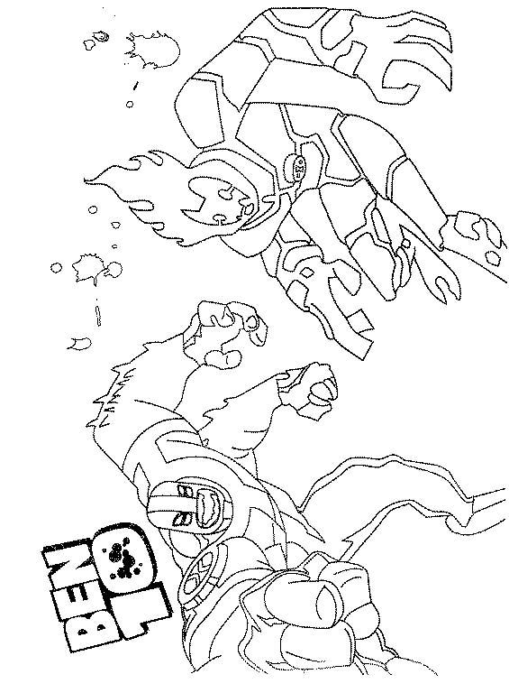 Ben 10 disegni per bambini da colorare for Ben 10 immagini da colorare