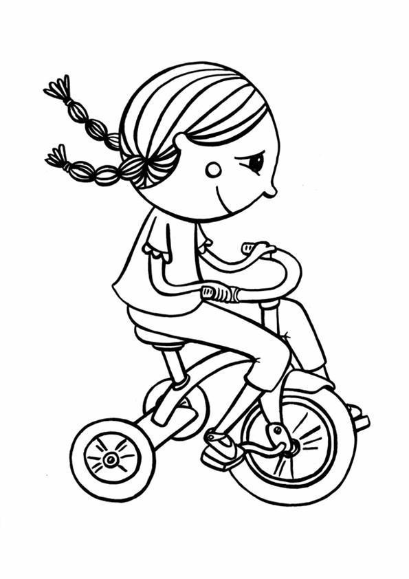 Disegni Biciclette 1 Disegni Per Bambini Da Stampare E Colorare By