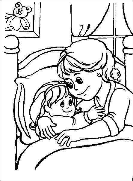 Buonanotte bambini 2 disegni per bambini da colorare - Elfo immagini da stampare gratuitamente ...