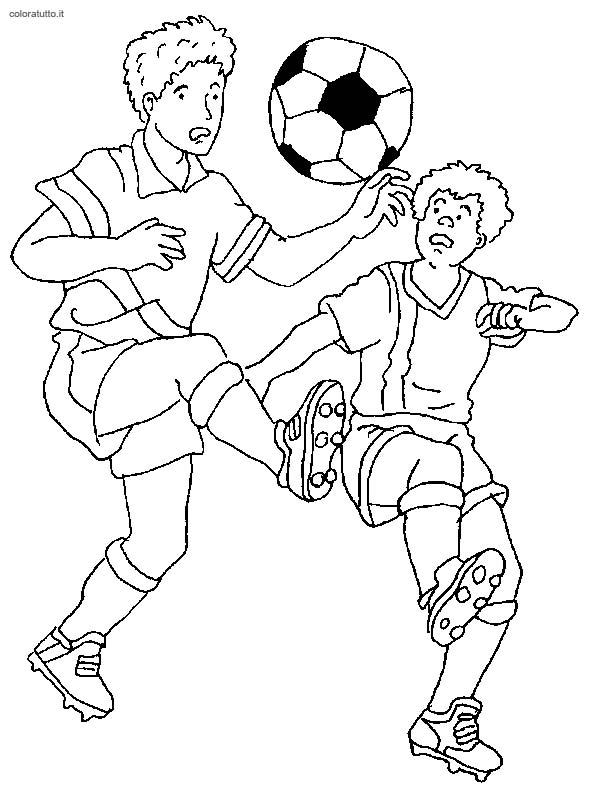 Calcio 2 disegni per bambini da colorare - Immagini di orsi da colorare in ...