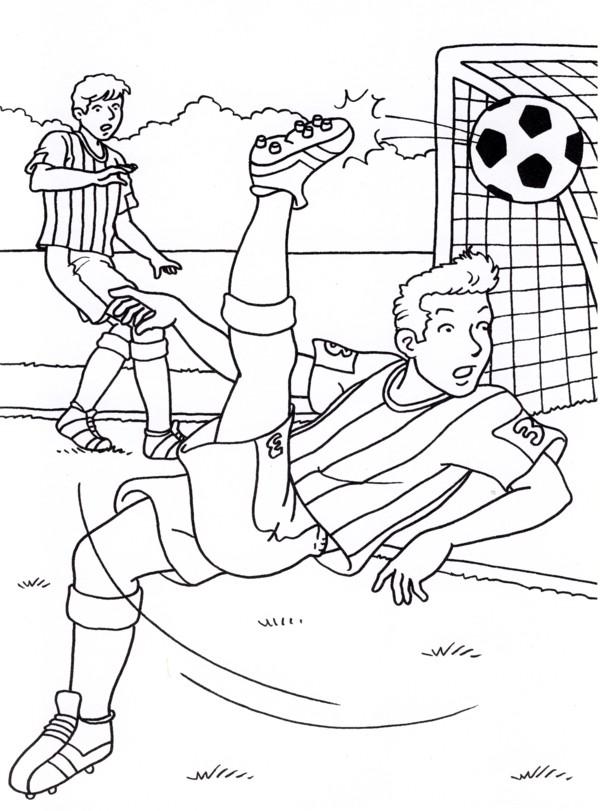 Calcio 6 disegni per bambini da colorare for Calciatori da colorare per bambini