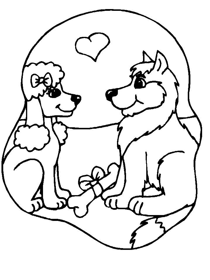 Cani disegni per bambini da colorare for Cani da disegnare facili