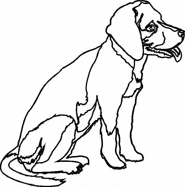 Cani disegni per bambini da colorare for Immagini di cani da colorare
