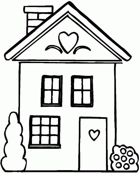 case disegni per bambini da colorare