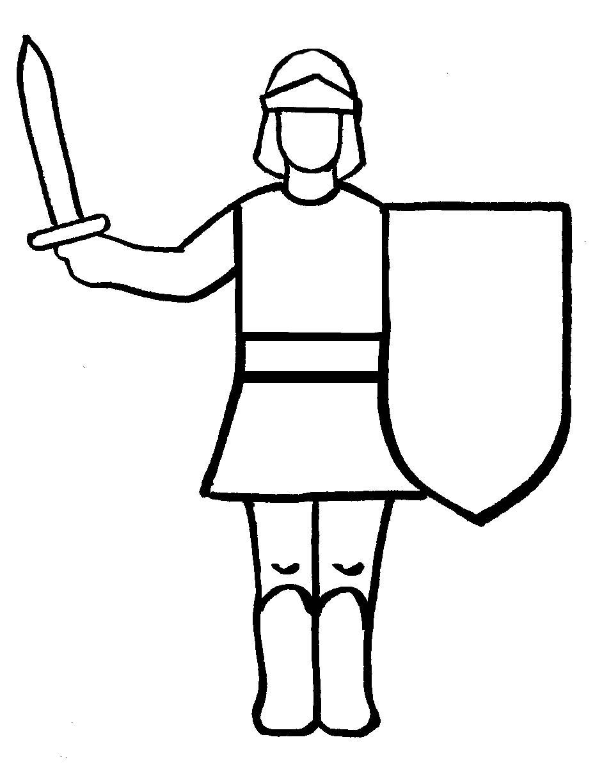 Cavalieri 4 disegni per bambini da colorare - Cavaliere libro da colorare ...