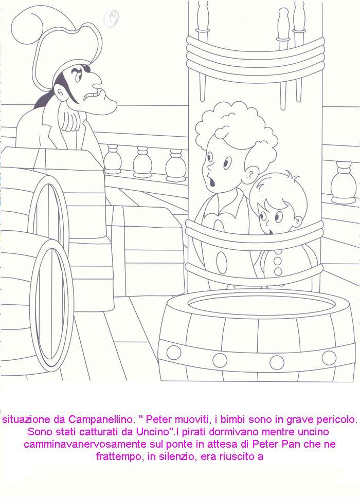Disegni fiaba da colorare peter pan 4 for Stampa e colora peter pan