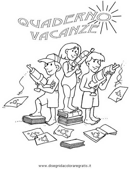 Copertine quaderni 4 disegni per bambini da colorare - Immagini in francese per bambini ...