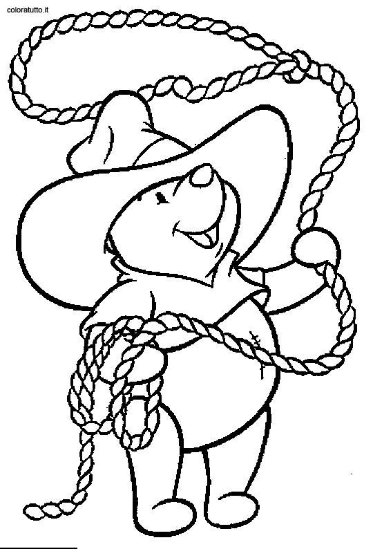 Cow Boy 9 Disegni per bambini da colorare