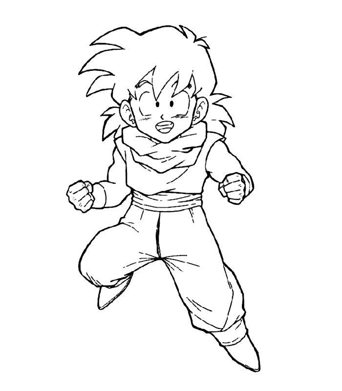 Dragon Ball Z 17, Disegni Per Bambini Da Colorare
