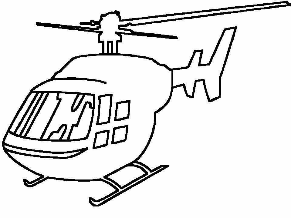 Elicottero Immagini Per Bambini : Elicotteri disegni per bambini da colorare