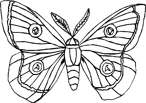 Farfalle 6 disegni per bambini da colorare - Arcobaleno da colorare stampabili ...