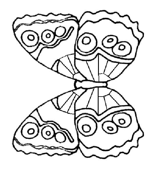 Farfalle, Disegni Per Bambini Da Colorare