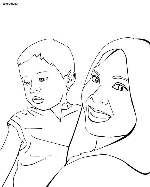 Festa Mamma 35, Disegni Per Bambini Da Colorare