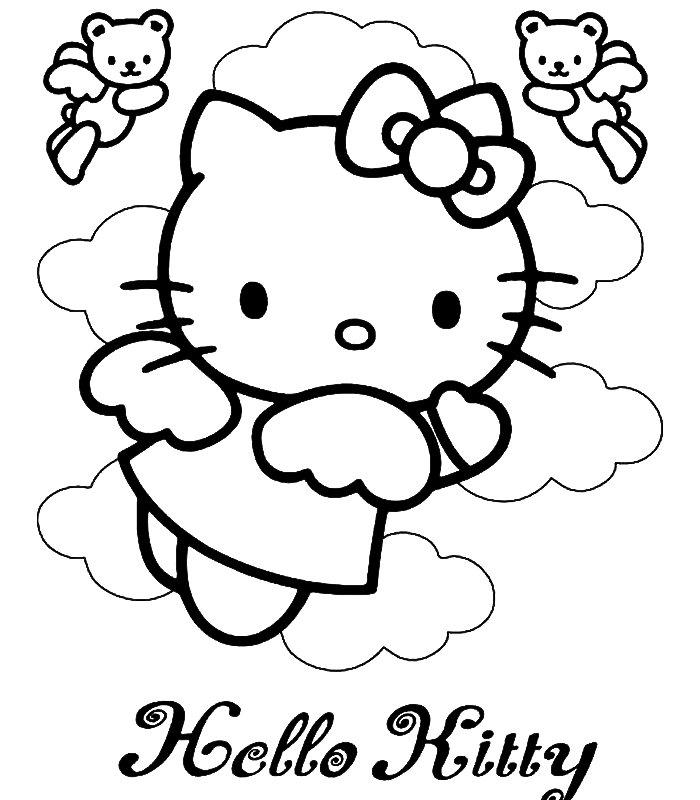 Hello kitty disegni per bambini da colorare for Disegni da colorare hello kitty