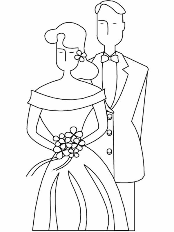 Matrimonio 8 disegni per bambini da colorare for Disegni per matrimonio