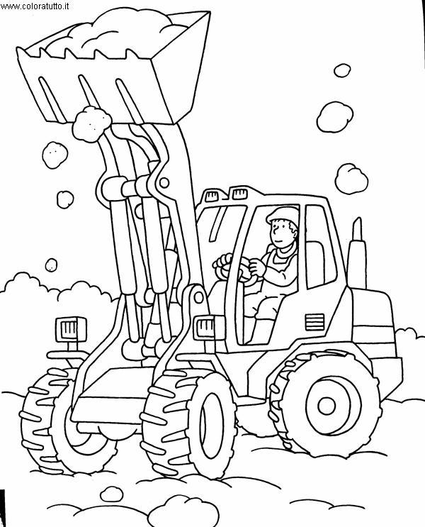 Mezzi pesanti 3 disegni per bambini da colorare for Immagini di clown da colorare