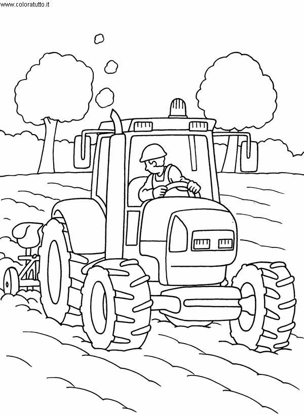 Mezzi pesanti 4 disegni per bambini da colorare - Disegno di immagini di veicoli ...