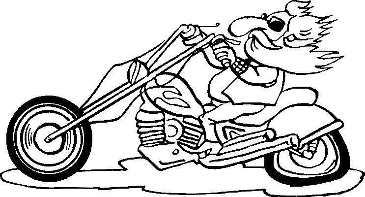 Moto Cross Da Colorare Motorcycle Clipart Coloring Migliori