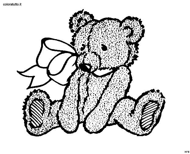 Orsi 21 disegni per bambini da colorare - Orsi polari pagine da colorare ...