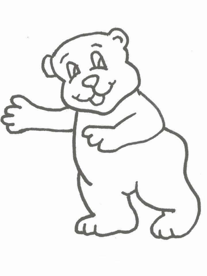 Orsi disegni per bambini da colorare - Immagini di orsi da colorare in ...
