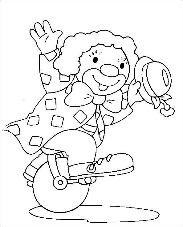 Pagliacci 7 disegni per bambini da colorare for Pagliaccio da disegnare