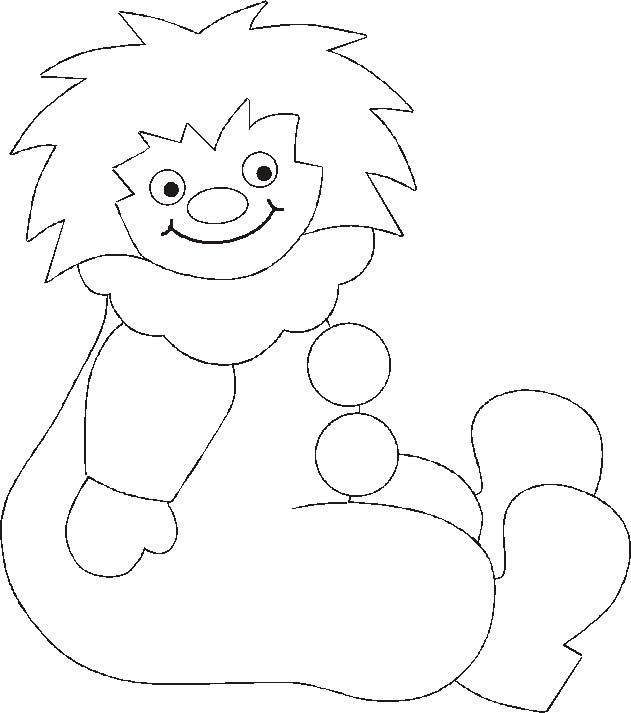 Pagliacci 8 disegni per bambini da colorare for Disegno pagliaccio da colorare