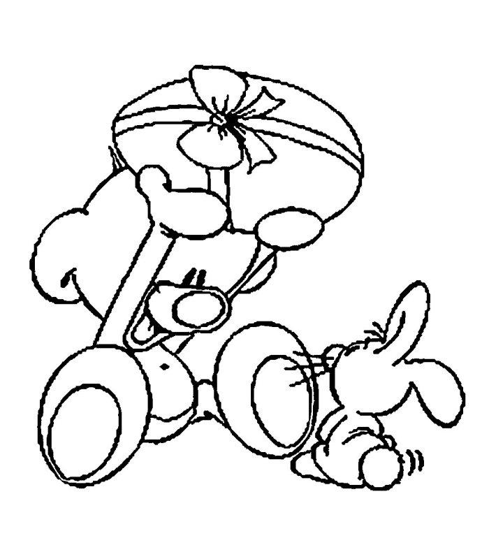 Pasqua 6 disegni per bambini da colorare - Diddle dessin ...