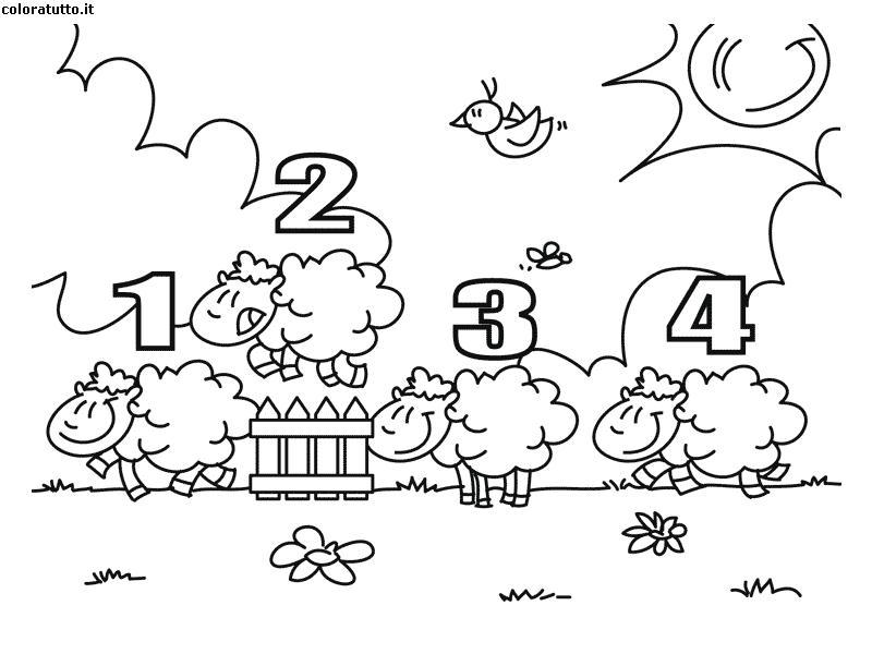 Pecorelle disegni per bambini da colorare - Immagini pipistrello da stampare ...