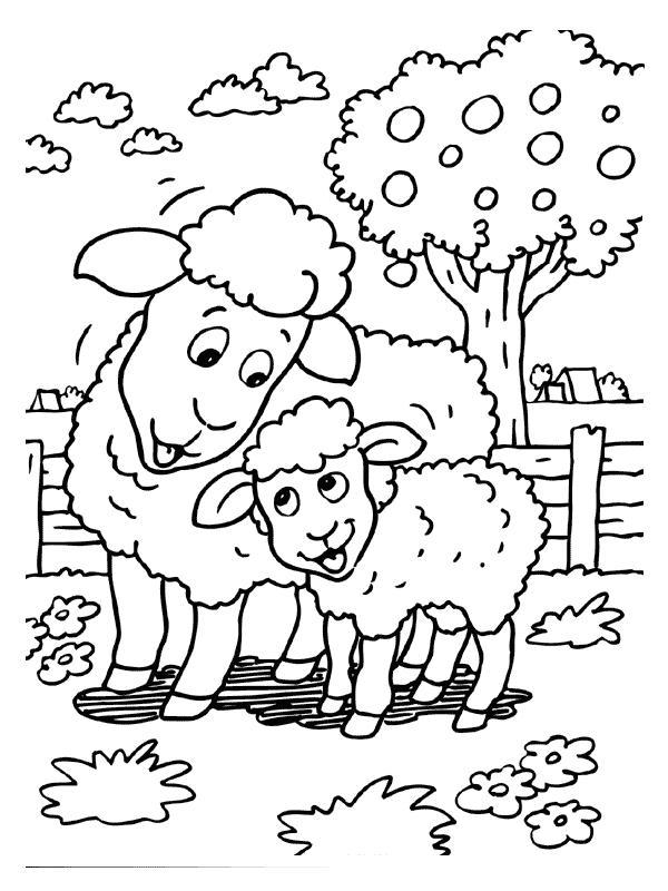 Pecorelle disegni per bambini da colorare for Immagini da colorare aristogatti