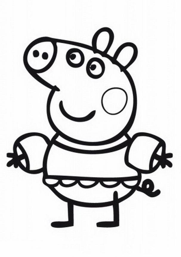 Peppa Pig Disegni Per Bambini Colorare