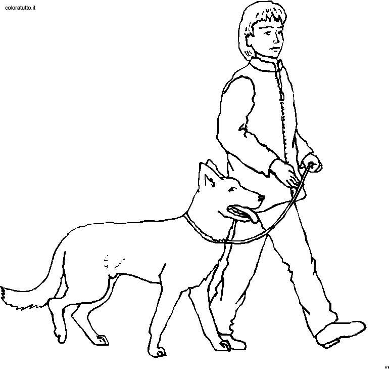 Persone con animali disegni per bambini da colorare - Immagini di animali da stampare gratuitamente ...