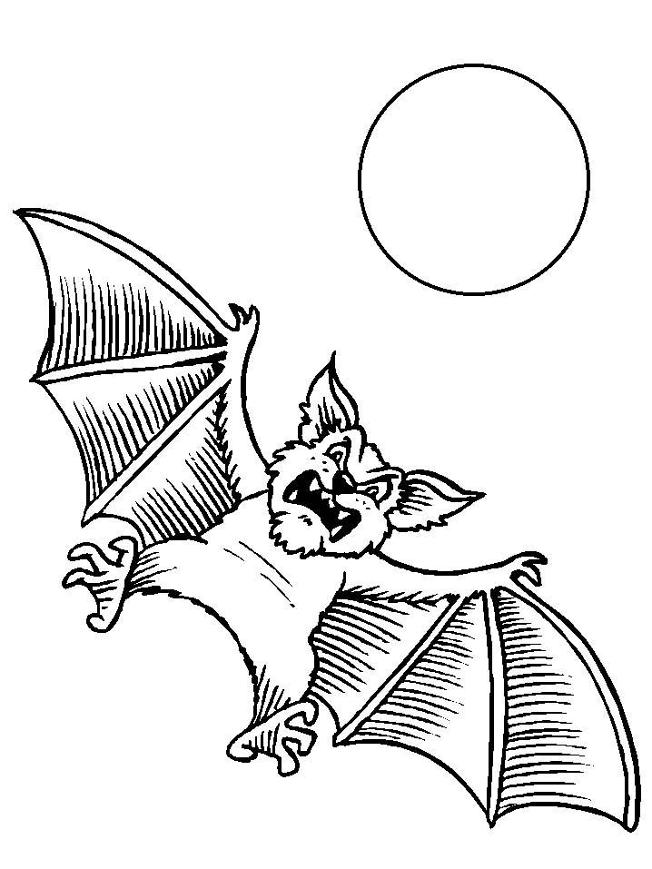 Pipistrelli disegni per bambini da colorare for Immagini di clown da colorare
