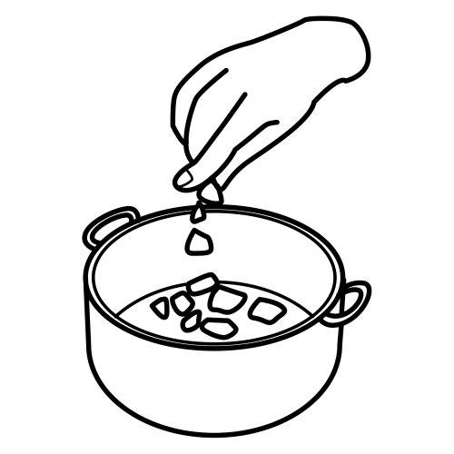 Disegni pittogrammi 12 disegni per bambini da stampare e for Cucinare a 70 gradi