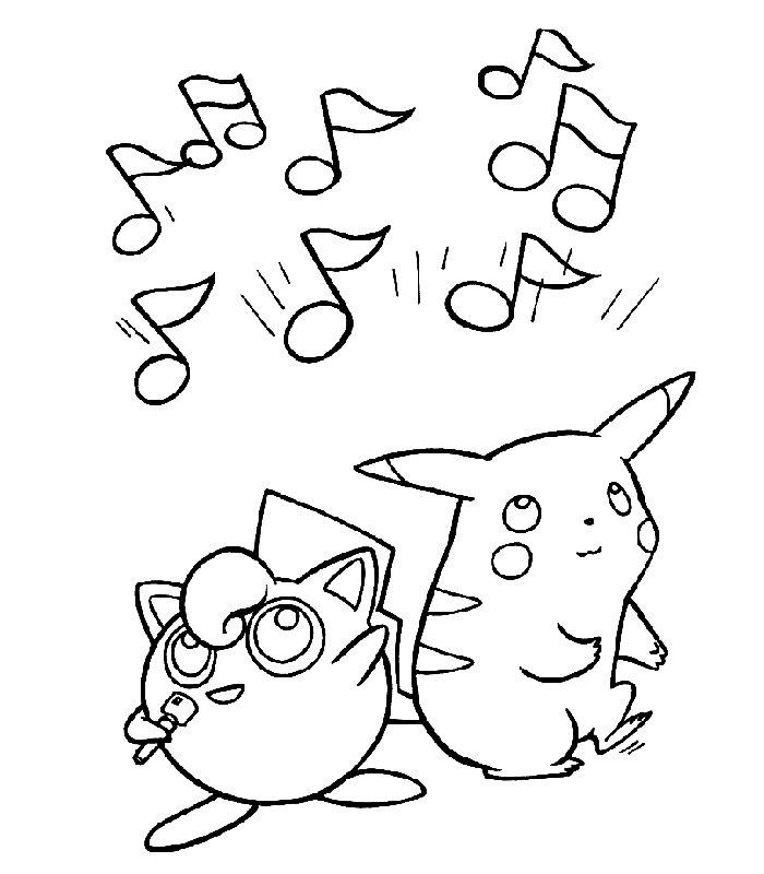 Pokemon Disegni Per Bambini Da Colorare