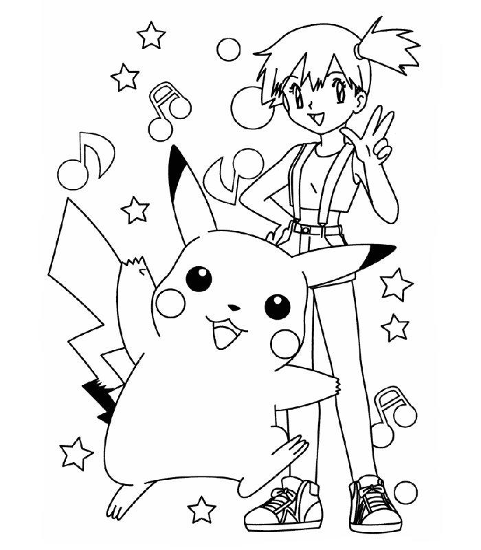 Pokemon 16, Disegni per bambini da colorare