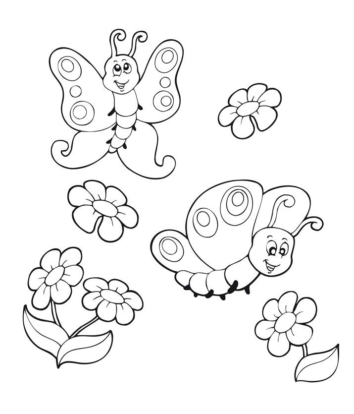 Disegni di primavera da colorare e stampare car interior for Immagini sulla primavera da stampare e colorare