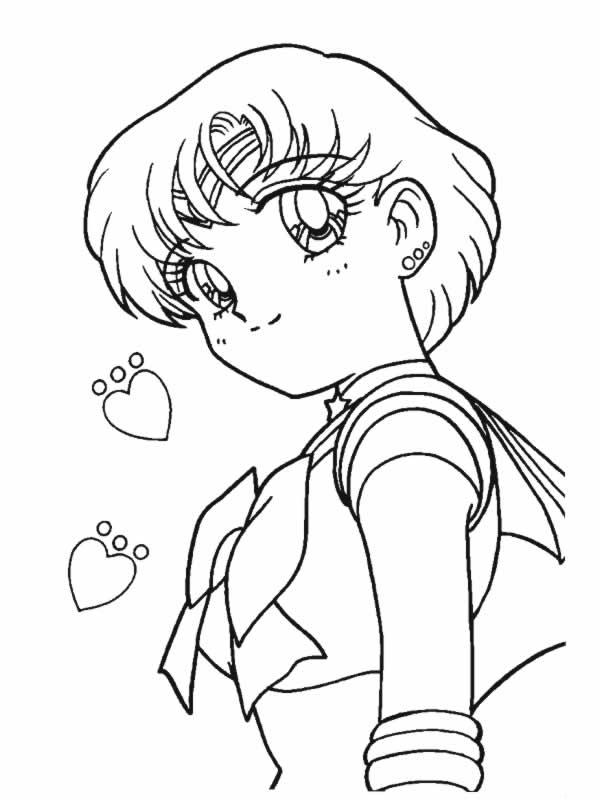 Sailor moon 19 disegni per bambini da colorare - Coloriage sailor moon ...