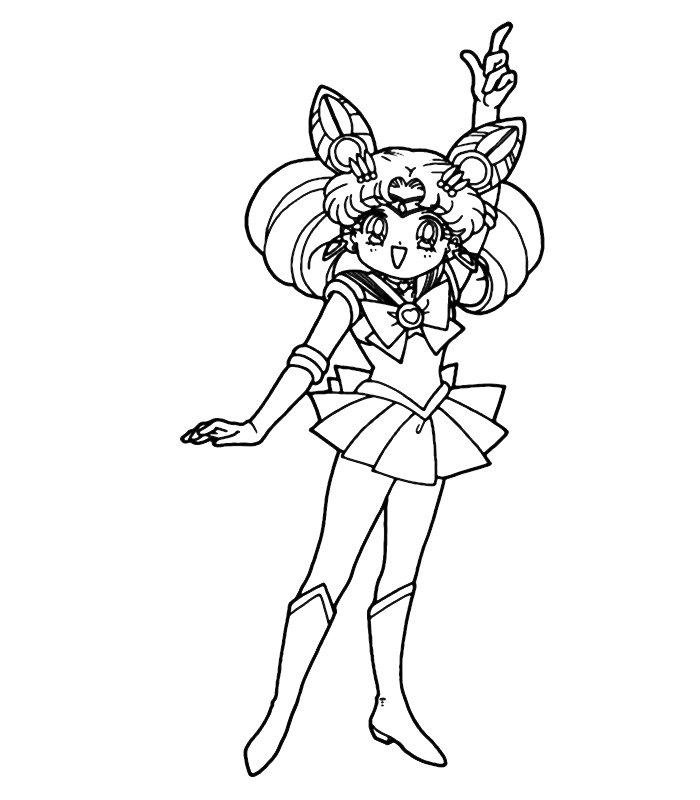 Sailor moon 8 disegni per bambini da colorare - Immagini pipistrello da stampare ...