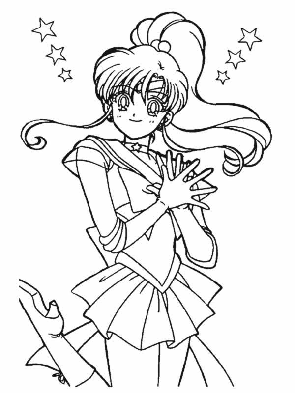 Sailor Moon Disegni Per Bambini Colorare