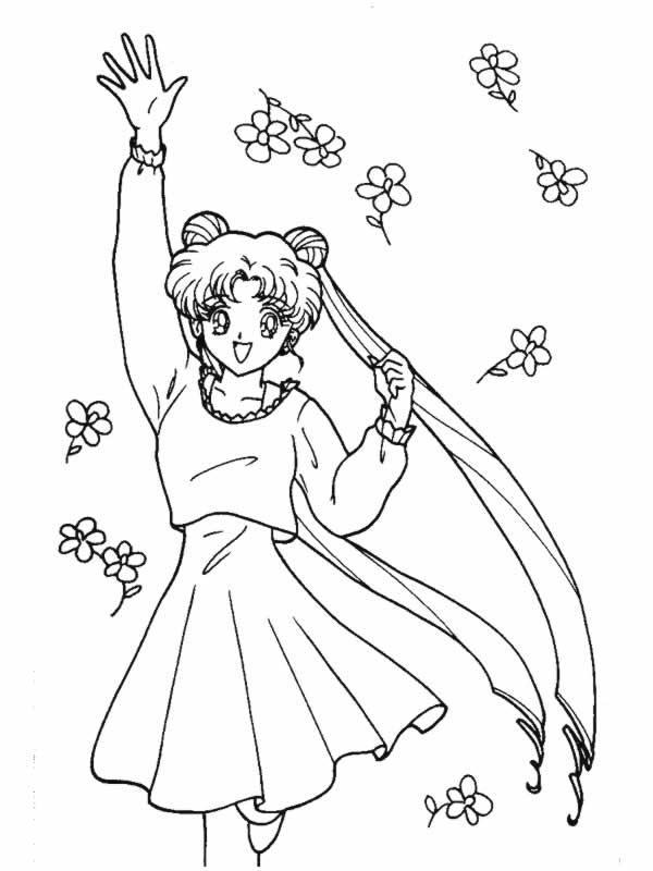 Sailor Moon 10 Disegni Per Bambini Da Colorare